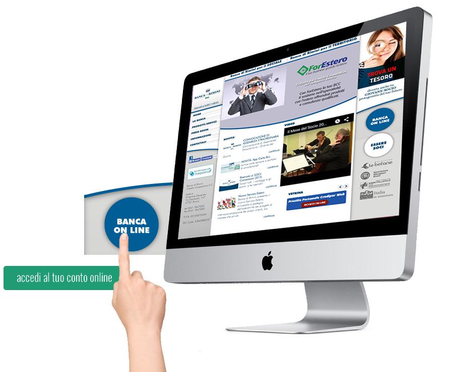 accesso conto online banca di rimini