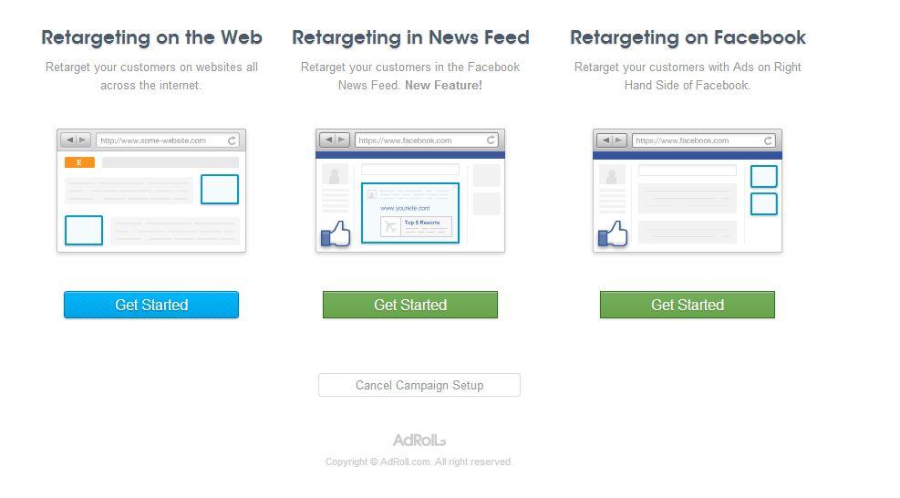 Annunci Facebook: prova il retargeting con AdRoll