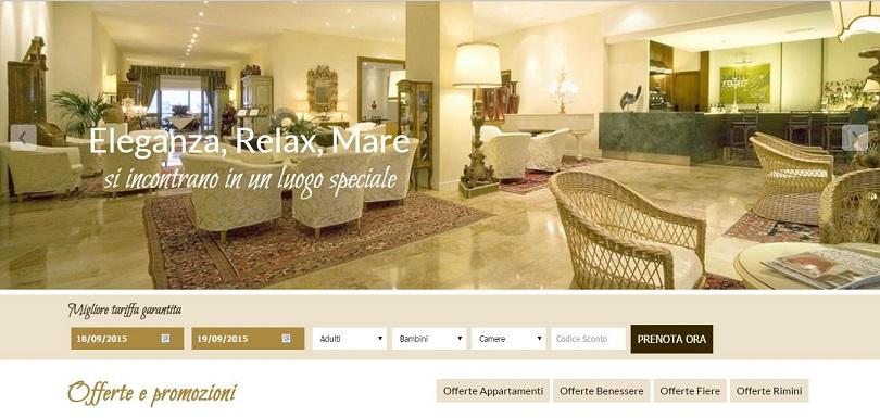 Hotel National di Rimini: nuovo sito e consulenza strategica