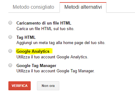 google analytics metodi alternativi