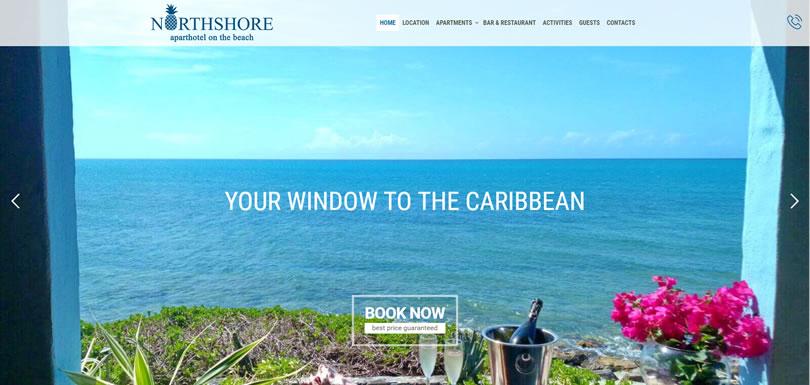 Northshore Antigua: nuovo sito
