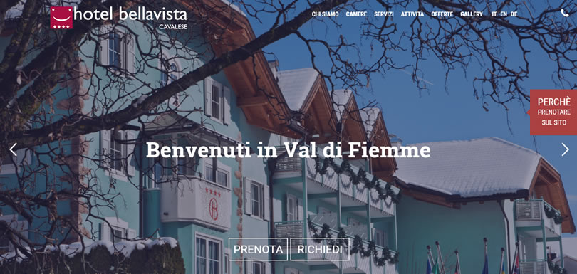 Hotel Bellavista Cavalese: nuovo sito