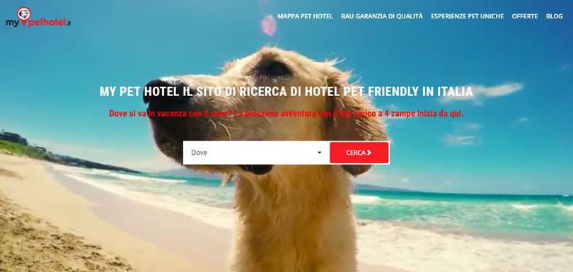 My Pethotel: nuovo portale di ricerca pet hotel